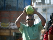 Nearly always watermelon season in India